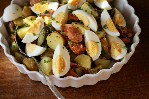 Smoked Salmon Potato Salad