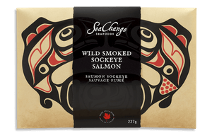 Smoked Sockeye Salmon Travel Pack