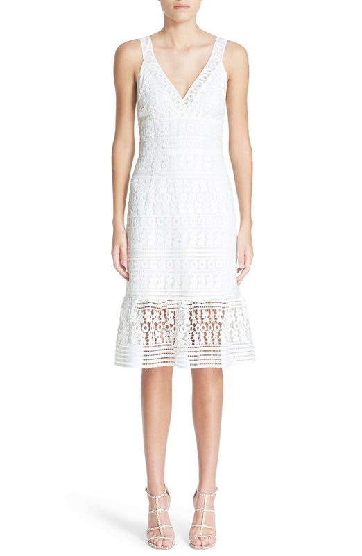 Tiana Lace Midi Dress