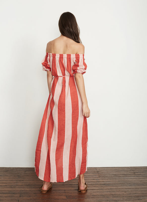 Picnic Striped Maxi