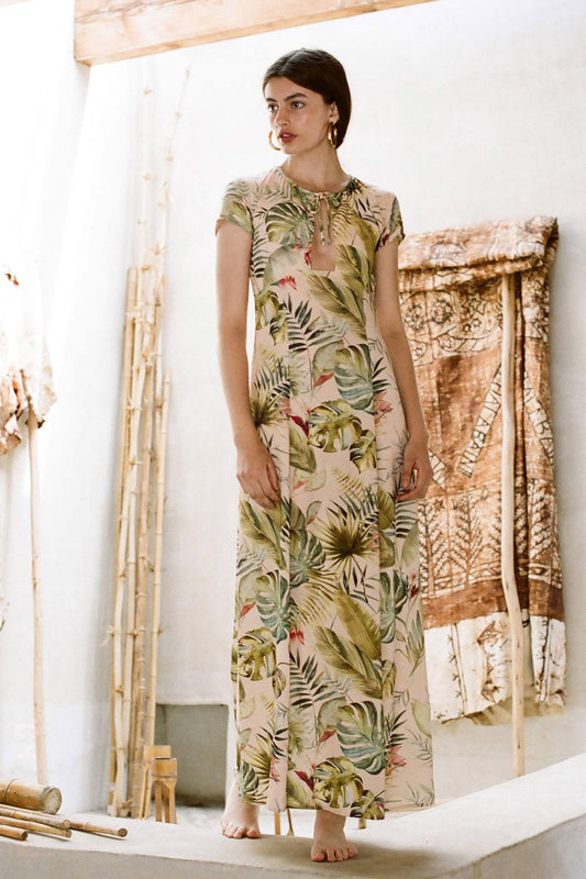 Printed Kongo Dress