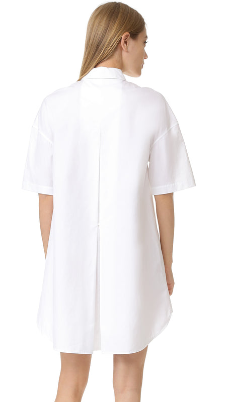 Cotton Poplin Shirt Dress