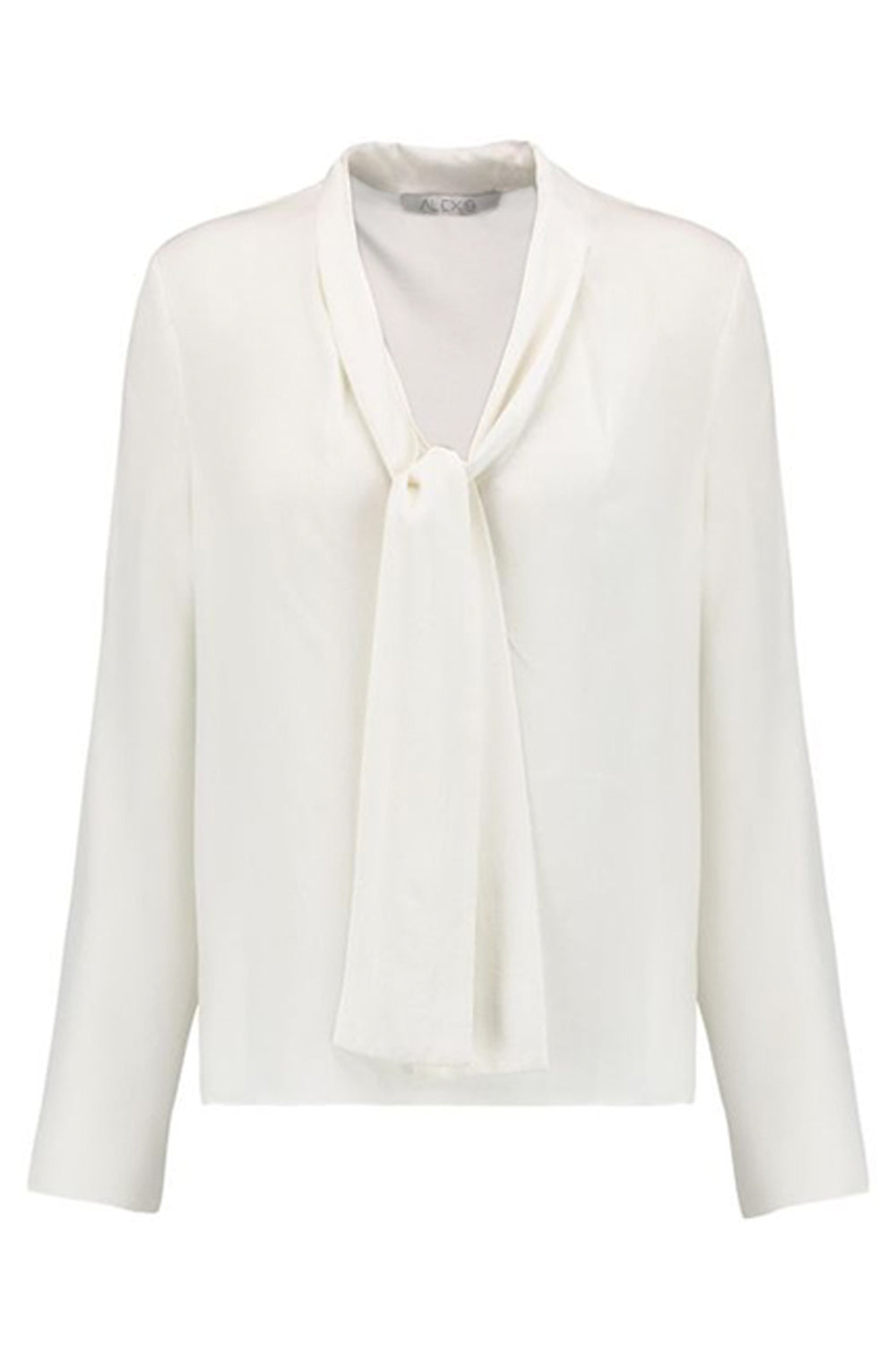 Pussy Bow Silk Blouse