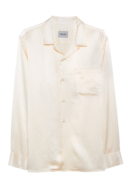 Hammered Silk Blouse