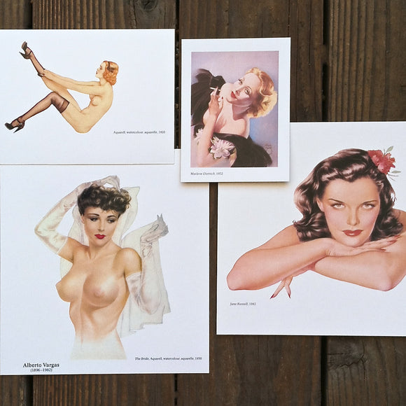 Pin-up Art Print Collectibles