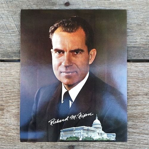 RICHARD M NIXON Jumbo Postcard 1969