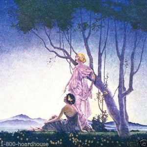 MAXFIELD PARRISH Art Deco Print 1920s