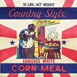 COUNTRY STYLE CORN MEAL Breakfast Bag 1920s