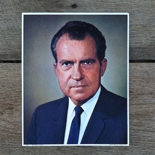 RICHARD NIXON President Commemoration Print 1969
