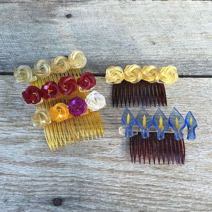 BRYCE Art Deco Hair Combs 1950s