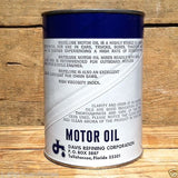 BRITELUBE MOTOR OIL CAN Bank 1960s