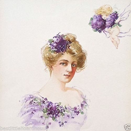 ADELE RITCHIE OPERA SINGER Victorian Lithograph Print 1903