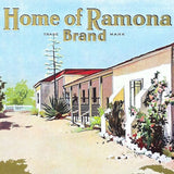 HOME OF RAMONA Citrus Crate Box Label 1900s