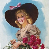 GIRL OF MY DREAMS Promotional Store Calendar 1943
