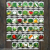 VEGETABLE SEED PACK Garden Collection 1920s