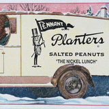 MR. PEANUT Planters Ink Blotter 1920s