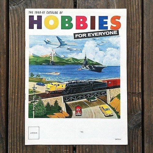 HOBBIES FOR EVERYONE Toy Catalog Booklet 1960s