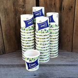 LIME SHERBET ICE CREAM Containers 1940s