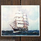 ST PAUL Clipper Ship Lithograph Print 1920s