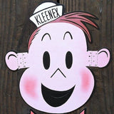 TUBBY CARTOON Cardboard Face Mask 1960s