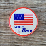 LOVE IT or LEAVE IT Vietnam USA Pin 1960s