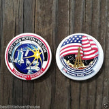 NASA SPACE SHUTTLE Challenger Pinback Pin Set 1980s