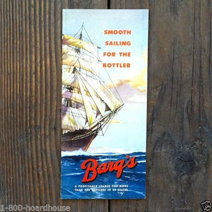 BARQ'S SODA BOTTLERS Booklet Pamphlet 1950s