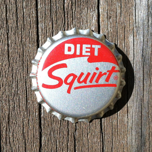 DIET SQUIRT SODA Bottle Cap 1960s