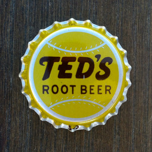 TED'S ROOT BEER Soda Bottle Cap 1960s