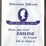 Dolly Madison DARLENE ICE CREAM Bags 1930s