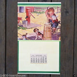 LIFES UPS AND DOWNS Promotional Store Calendar 1948