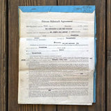 PITTSBURGH LAKE ERIE Railroad SIDE TRACK Agreement 1920s-30s