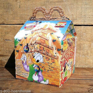 HAPPY MEAL DISNEYLAND Epcot Party Box 1994