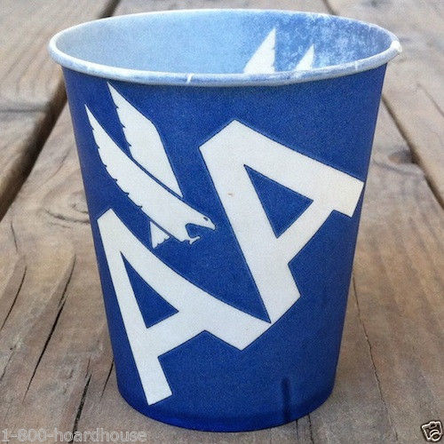 AMERICAN AIRLINES Paper Sample Cup 1960s