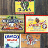 IRTP Beer Bottle Label Set 1930s