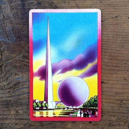 NY WORLD'S FAIR Playing Card
