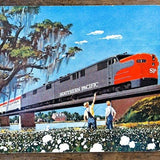 SOUTHERN PACIFIC RAILROAD Playing Card