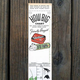 TUMS ADVERTISING Store Promotional Ruler 1952