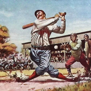 CASEY AT THE BAT Ink Blotter 1930s