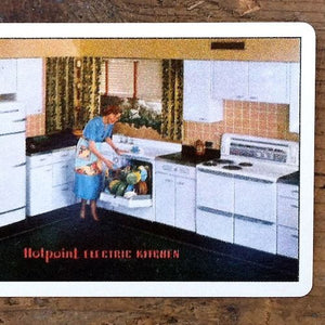 HIGHPOINT ELECTRIC KITCHEN Playing Card 1940s
