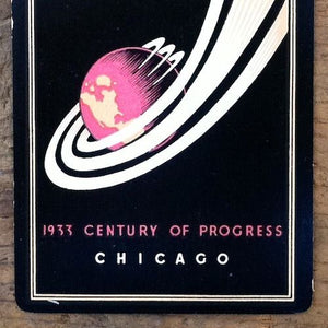 CENTURY OF PROGRESS Playing Cards 1930s