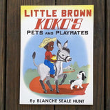 LITTLE BROWN KOKO'S Pets Paperback Book 1959