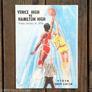 COCA-COLA BASKETBALL High School Athletic Program 1976