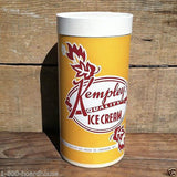 KEMPLEY'S Half Gallon Ice Cream Container 1950s