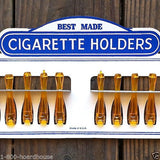 BEST MADE CIGARETTE HOLDERS Store Display 1950s