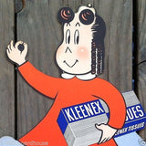 KLEENEX LITTLE LULU Standup Store Display 1951
