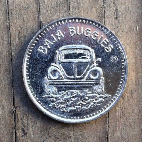 CRYSTAL BEACH Amusement Park Token Coin 1960s