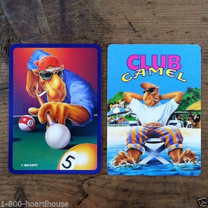 JOE COOL CAMEL CIGARETTE Playing Card Set 1990s