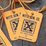 IXL HARDWARE STORE String Price Tags 1930s