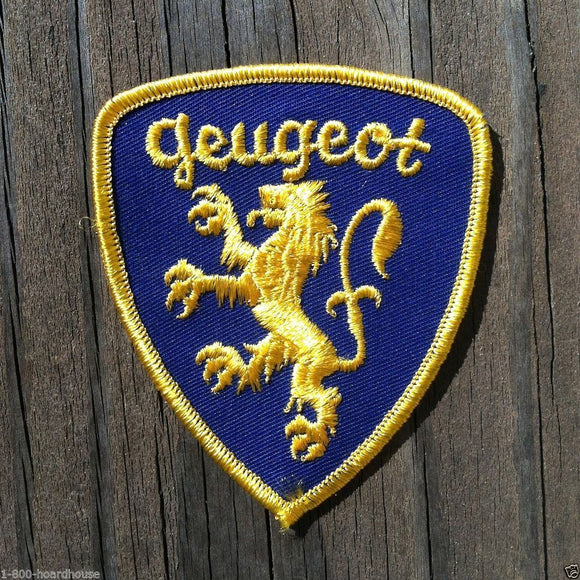 GEUGEOT Peugeot Lion Shield Patch 1960s